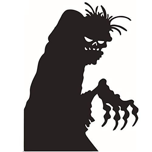 Pegatinas De Halloween para Decoración De Pared, Pegatina De Fantasma De Halloween, Pegatina para Ventana De Tienda, Sala De Estar, Dormitorio para Fiesta De Halloween, 44,6 * 58 Cm