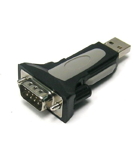 InstallerParts USB to Serial Adapter USB Male/DB9 Male FTDI Chipset – Mac and Windows Compatible