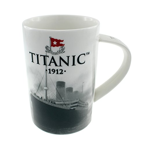 Titanic 1912 Sammler Keramic Bone China Kaffeetasse Teetasse Coffee Tee Becher | Irish Home Haus Souvenir Geschenk Küche Küchenzubehör Zubehör Dekoration Wohnkultur