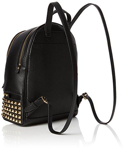 Michael Kors Womens Rhea Zip Backpack Black (Black), 13x30x26 cm (W x H x L)