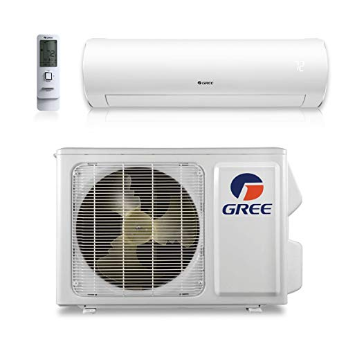 GREE 9,000 BTU 38 SEER Sapphire Wall Mount Ductless Mini Split Air Conditioner Heat Pump 208/230V