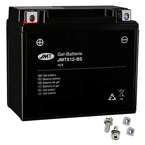Batería de gel YTX12-BS para VN 900 B Classic, año de construcción 2006 – 2017 de JMT.