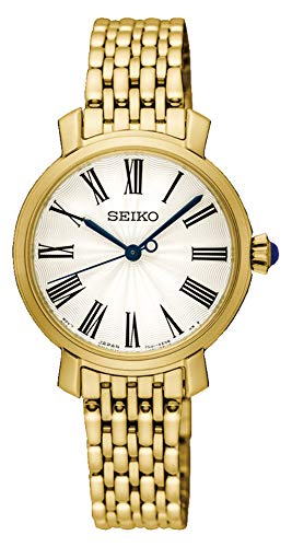 Seiko Reloj Analogico para Mujer de Cuarzo con Correa en Acero Inoxidable