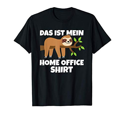 Geschenkidee Faultier Das Ist Mein Home...