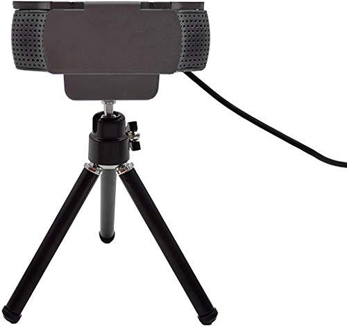 MoimTech Privacy Cover and Webcam Tripod Stand for Logitech Webcam Camera C920/ C930e /C922x (Mini-Black)