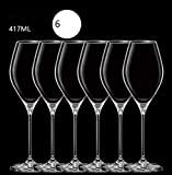 N / A Wine Goblets Glasses Party Glassware Barware Kitchen Home Reusable Outdoor Tableware,Wine Glass Set