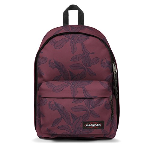 Eastpak Out Of Office rugzak, Rood (Leaves Merlot) (rood) - EK76744T