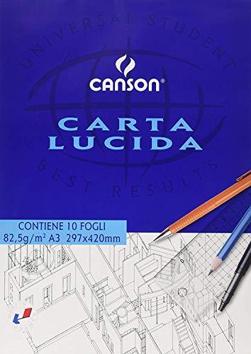 Canson 531022 - Bloc de dibujo de papel brillante