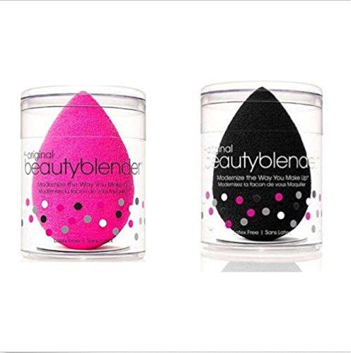 Beauty Blender maquillage éponge Lot de 2 rose et noir