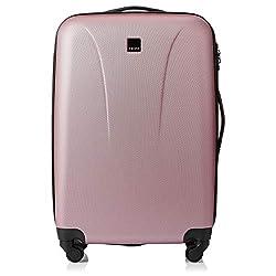 Medium Suitcase Colour: SOFT PINK 4 Wheels, Medium, Tsa Lock Weight: 3.6 KG