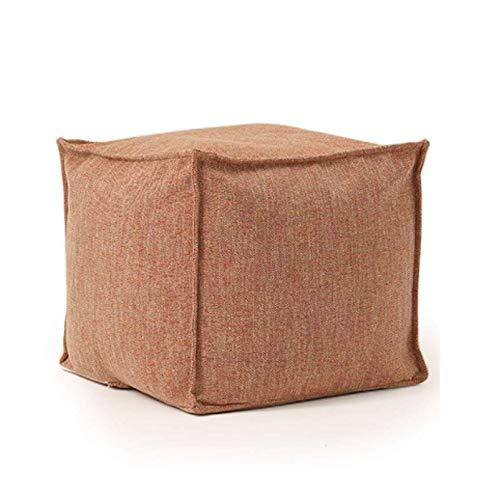 Bean bag La bolsa de frijol perezoso del sofá del dormitorio de la sala Probador taburete de paso de la personalidad creativa simple, for el Home Office y, Suelo Almohada for la meditación o Como Pres