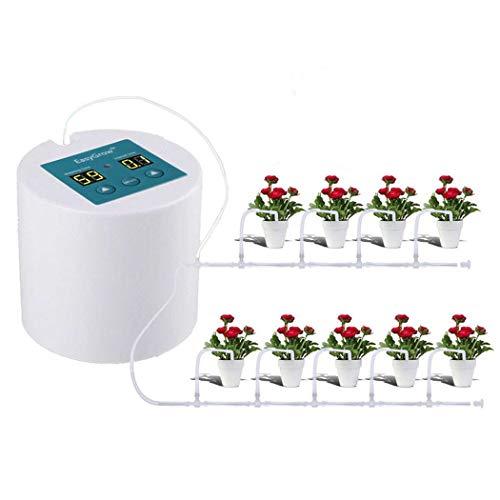 UKMASTER Bewässerungssystem Automatische Pflanzen Bewässerung Tropfbewässerung für Blumenbeet, Terrasse, Garten oder Topfpflanzen