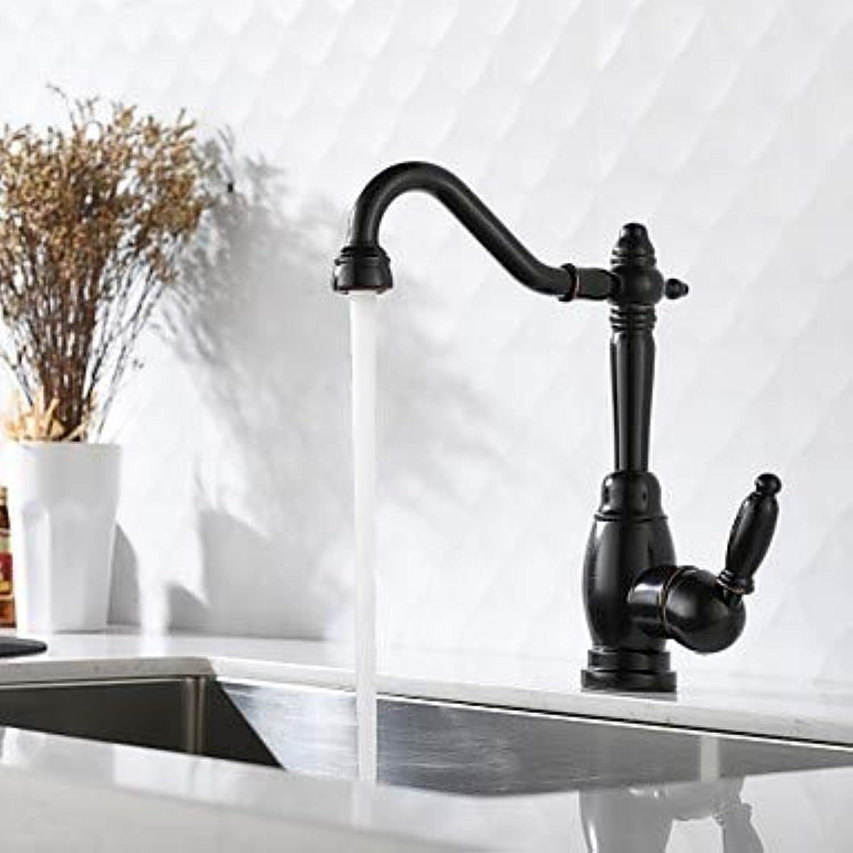 Mittellage Keramisches Ventil Einhand Ein Loch l-riebe Bronze, Armatur für die Küche