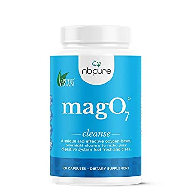 nbpure Mag O7 Oxygen Digestive System Cleanser Capsules, 180 Count by Nutritional Brands