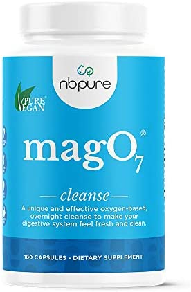 nbpure Mag O7 Oxygen Digestive System Cleanse and Detox Capsules, 90 Count
