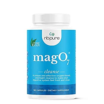 nbpure Mag O7 Oxygen Digestive System Cleanser Capsules 180 Count