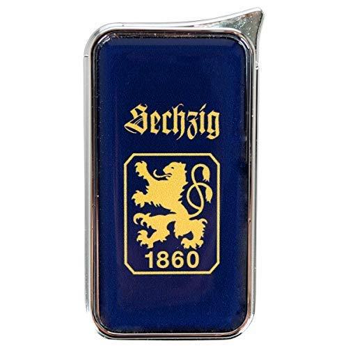 TSV 1860 München Feuerzeug Atomic Doming - offizieller Lizenzartikel (einzeln dunkelblau)