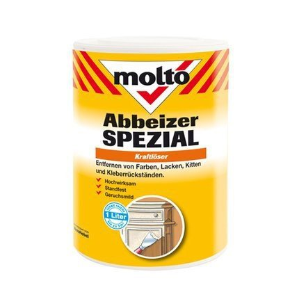 Molto Abbeizer Spezial Kraftlöser Farblos 2,5 Liter