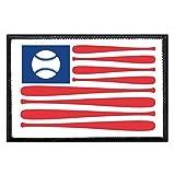 American Flag Baseball...image