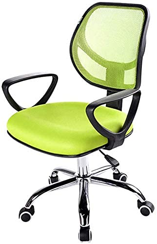 LSLY Gaming Chair Bürostuhl, ergonomischer Personalstuhl, Home Office Stuhl, 10 cm Höhenverstellung / 360 ° Drehung, hohe Tragfähigkeit