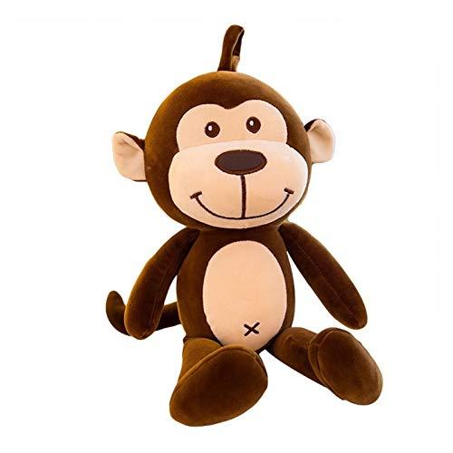 DONGMAI Juguete de Peluche Linda Linda muñeca muñeca Peluche Juguete Suave Almohada Mono Peluche Peluche Peluche niño niño Novio Regalo (Color : 1, Height : 40cm)