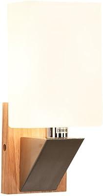 Applique murale Salon intérieur éclairage extérieur décoration solide bois LED applique murale moderne