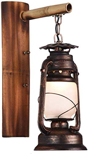 Meixian Wandlamp, vintage, wandlamp, antieke lantaarns, vintage, petroleumlamp, tuinverlichting, decoratie, gang, wandlamp, eenvoudig retro