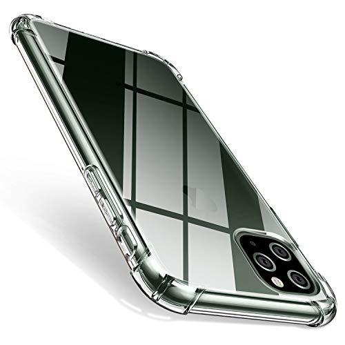 AROYI iPhone 11 Pro Max Hülle, Transparent Silikon TPU Soft Premium Hülle Anti-Kratzer Schock-Absorption Durchsichtig Schutzhülle für iPhone 11 Pro Max 6.5