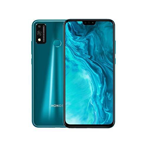 Honor 9X Lite - Smartphone de 48 MP, NFC, 4 GB de RAM, 128 GB de ROM, 6,5 pulgadas, Full HD + Dual SIM, desbloqueo facial y huellas digitales, con auricular clásico, verde