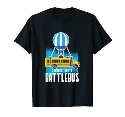 Vidéo de jeu Straight Out The Battle Bus T-Shirt