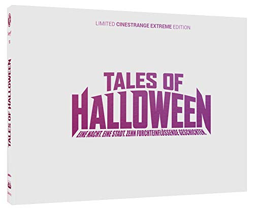 Tales of Halloween - Trick or Treat Edition - Mediabook - Cover Q - Wattiertes weisses Quermotiv im Digipack - Limited Edition auf 66 Stück (+ DVD) [Alemania] [Blu-ray]