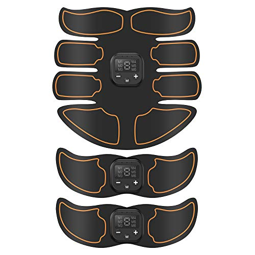 SUNGYIN Abs Stimulator Muscle Trainer Ultimate Abs Stimulator Ab Stimulator for...