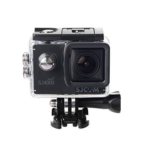 Original SJCAM SJ4000 WiFi Action-Kamera Sport DVR Wasserdicht 30 m Outdoor Camcorder Helm Motorrad Kamera (Schwarz) (Generalüberholt)