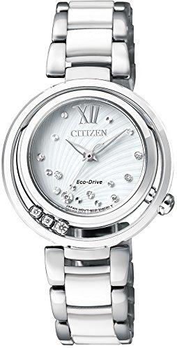 [シチズン] 腕時計 シチズン エル エコ・ドライブ EM0327-84A ホワイト