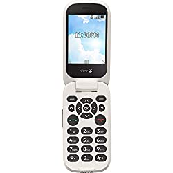 top 10 cell phone trac Doro (7050TL) Flip Tracfone's easy-to-use senior mobile phone (white)