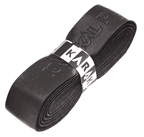 Karakal PU Supergrip replacement racquet grip - tennis / badminton / squash - Black x 6 by Karakal