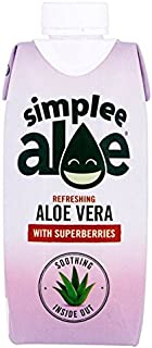 Simplee Aloe Superberries Aloe Vera Drink - 330ml (11.16fl oz)