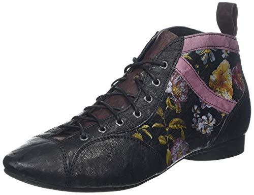 Think! Damen Guad_585288 Desert Boots, Schwarz (Sz/Kombi 09), 41 EU
