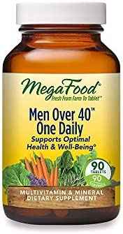 MegaFood Men Over 40 One Daily Daily Multivitamin and Mineral Dietary Supplement with Vitamins product image