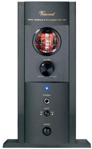 Vincent KHV-1 powerLine Hybrid Kopfhörer-Verstärker, schwarz