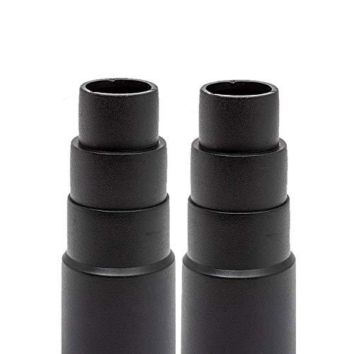 Adaptador de aspiradora para aspiradoras de taller estándar: adaptador de manguera universal para reducción. Para lijadora taladro sierra de calar lijadora taladro de banco lijadora / reductor manual