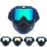 Gafas de sol de ciclismo Gafas de esquí Gafas de snowboard Gafas antivaho Protección UV Casco Deportes (Color : 10, Size : One Size)