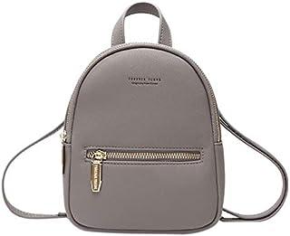 TOOGOO New Designer Fashion Women Backpack Soft Press Multi-Function Small Backpack Female Ladies Shoulder Bag Girl Purse Black