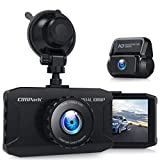 Campark Dash Cam Front and Rear Dual 1080P Car Camera with 340° Wide