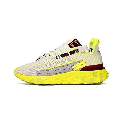 Nike React Ispa, Zapatillas para Correr para Hombre, Platinum Tint/Team Red/Volt Glow,...