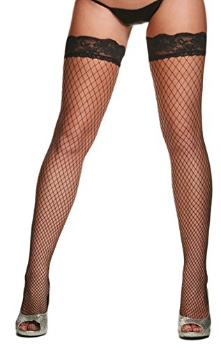 CTYHCG Damen Strümpfe Netzstrumpfhose Strapsstrümpfe Halterlose Feinmaschige Netzstrümpfe