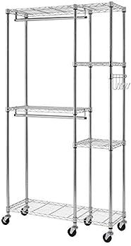 Trinity EcoStorage 5-Shelf Steel Closet System Organizer