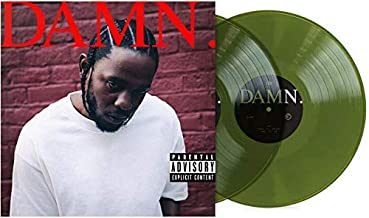 Damn - Exclusive Limited Edition Translucent Forest Green Colored 2x 180 Gram Vinyl LP