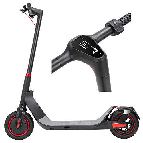 Kugoo G-MAX Eléctrico Patineta para niño Adulto, Scooter Plegable Motor de 500 W, Batería de 10.4 Ah, Velocidad Máxima de 35 km/h, Autónoma de 32 km, Control de Aplicación, Pantalla LED HD