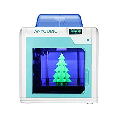 ANYCUBIC 4Max Pro 3D Printer Printing Size 270x205x205mm³ with UltraBase Heated Build Plate UK Plug, Fully Assembled + Free 1kg Filament, Works with PLA/ABS